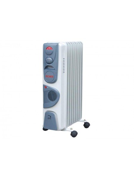 Масляный радиатор с тепловентилятором РЕСАНТА ОМ-9НВ