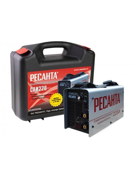 Сварочный инвертор РЕСАНТА САИ-220 в кейсе