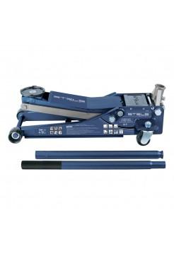 Домкрат гидравлический подкатной, быстрый подъем, 3т LOW PROFILE QUICK LIFT, 75-515 мм, профессиональный STELS