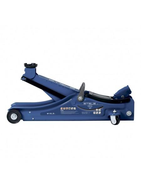 Домкрат гидравлический подкатной в пластиковом кейсе г/п 2т Low Profile STELS 51130