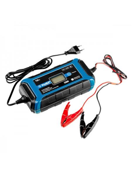 Зарядное устройство ЗУБР ПРОФЕССИОНАЛ, 12В, 8А, автомат, IP65, AGM, GEL, WET 59303