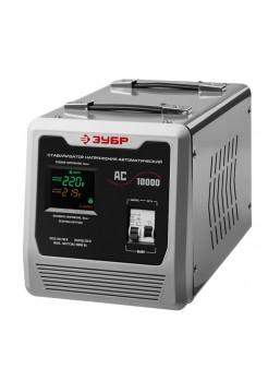 Автоматический стабилизатор с цифровой индикацией Зубр АСН-10000-1-Ц ПРОФ. 59380-10