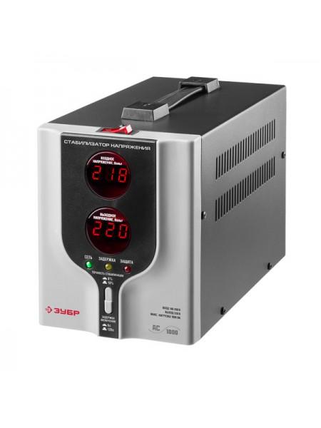 Автоматический стабилизатор с цифровой индикацией Зубр АСН-1000-1-Ц ПРОФ. 59375-1