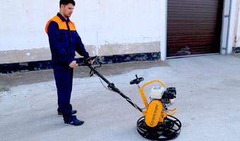 Метод удаления излишков бетона при устройстве и ремонте полов
